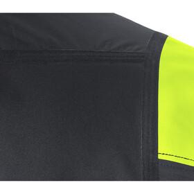 GORE WEAR C7 Windstopper Veste Pro Homme, black/neon yellow